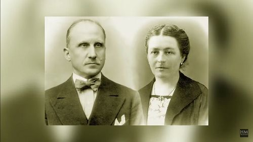 Los esposos Beltrame Quattrocchi