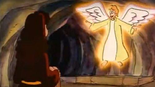 La Semana Santa en dibujos animados
