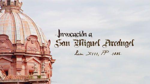 Invocación a San Miguel Arcángel