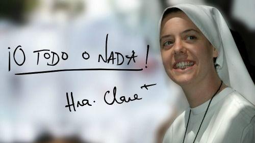 O todo o nada: Hna Clare Crockett